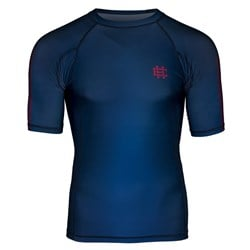 Short Sleeve Rashguard Active Blue