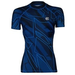 Short Sleeve Rashguard Damski Shadow Blue