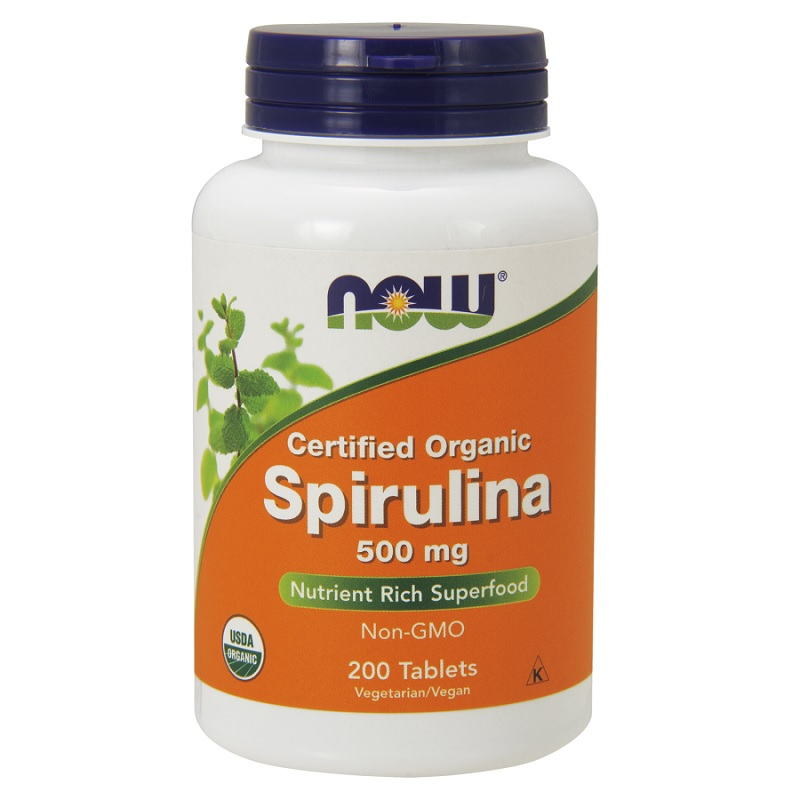 Now Spirulina 500 mg