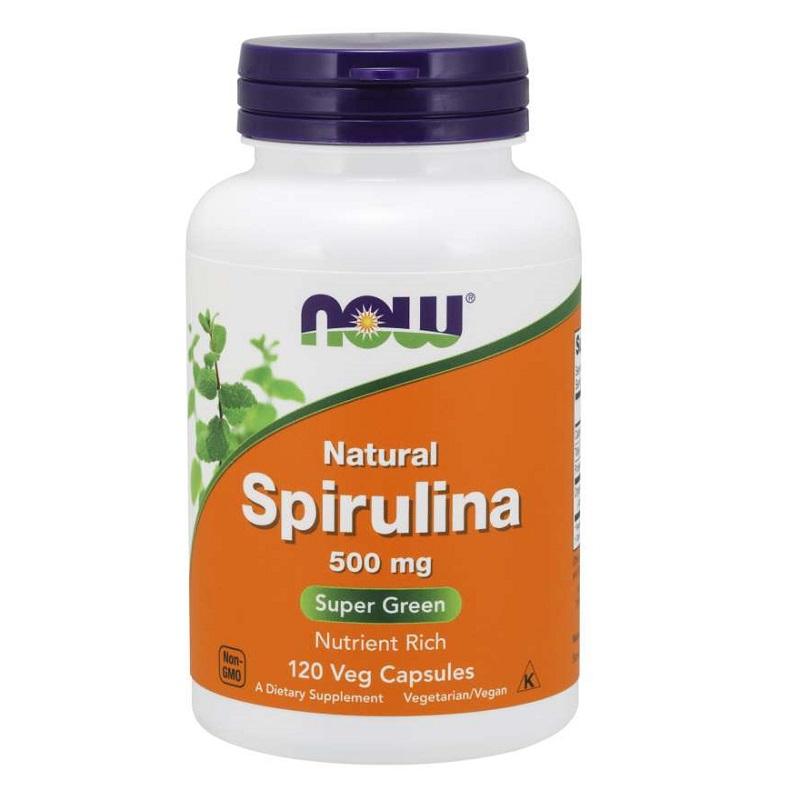 Now Spirulina 500 mg