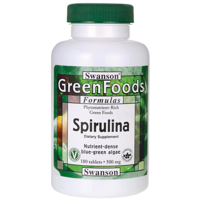 Swanson Spirulina Green Foods