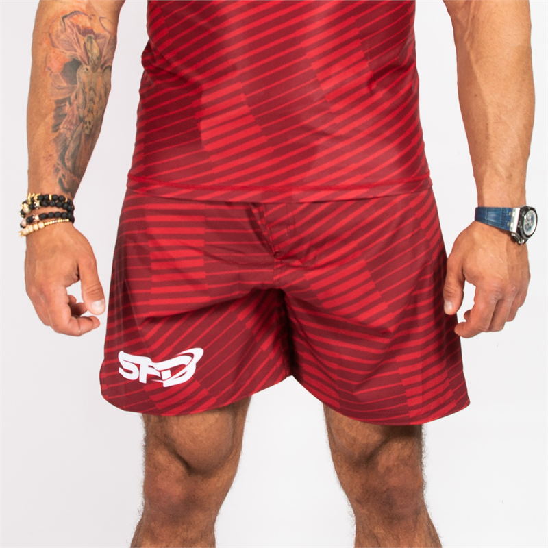 SFD NUTRITION Spodenki Athletic Red