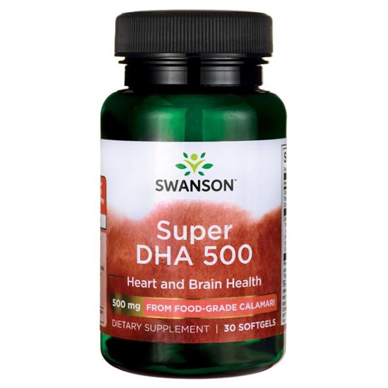 Swanson Super DHA 500 from Food-Grade Calamari