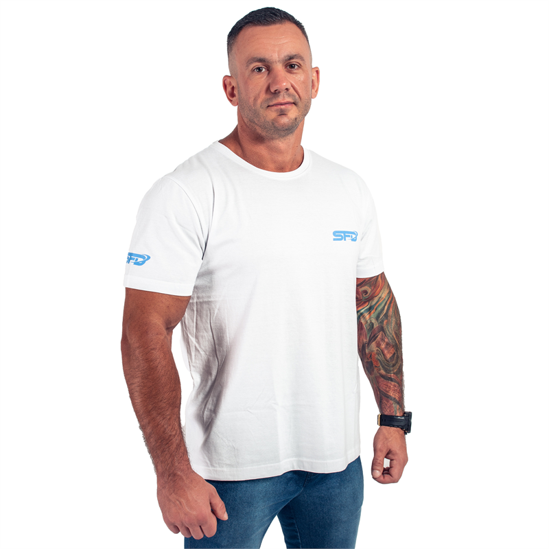 T-Shirt Athletic Biały