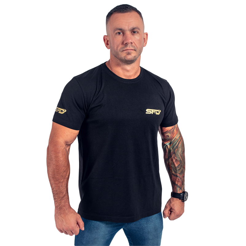 SFD NUTRITION T-Shirt Athletic Czarny
