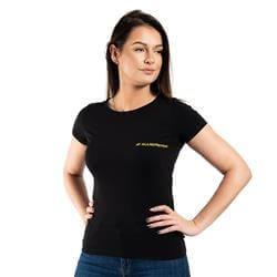 T-Shirt Damski Slim FIT Czarny