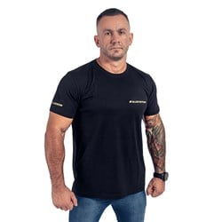 T-Shirt Męski Slim FIT Czarny
