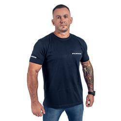 T-Shirt Męski Slim FIT Garanatowy