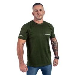 T-Shirt Męski Slim FIT Zielony