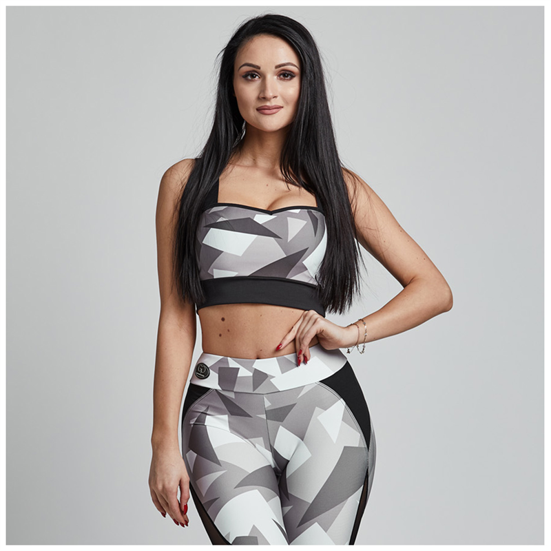 Gym Provocateur TOP BRAVE MILITARY GREY