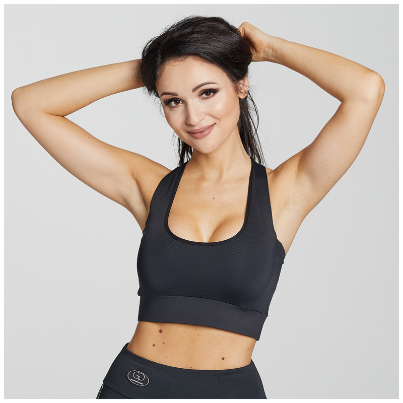 Gym Provocateur TOP SPORTY BLACK
