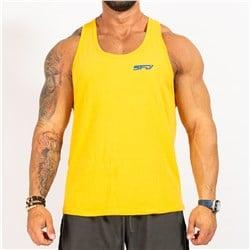 Tank Top Męski Yellow