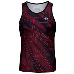 Tank Top Rashguard Shadow Red