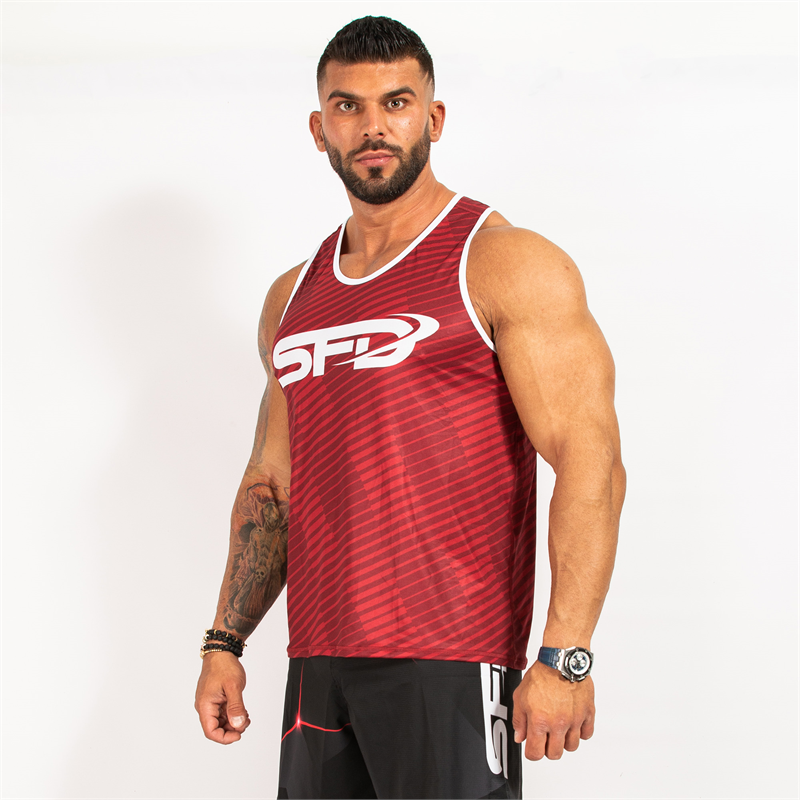 SFD NUTRITION Tank Top Red