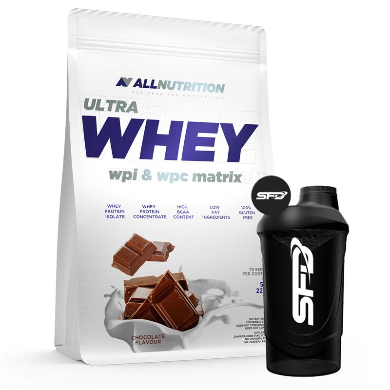 ALLNUTRITION Ultra Whey 2270g + Shaker GRATIS