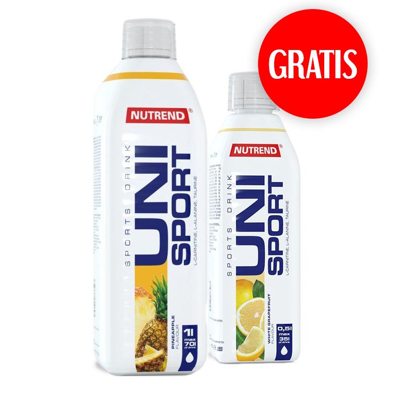 Nutrend Unisport 1000ml + Unisport 500ml