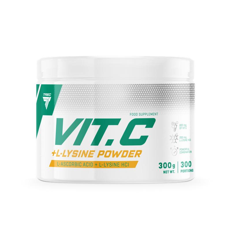 Trec Vit.C +L-Lysine Powder