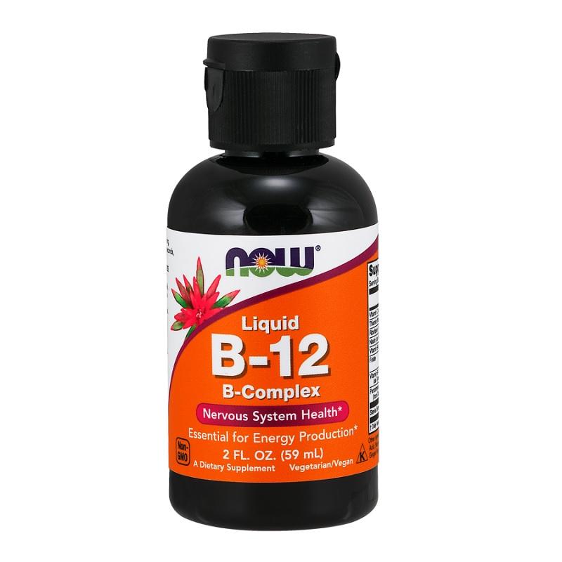 Now Vitamin B-12 Complex Liquid