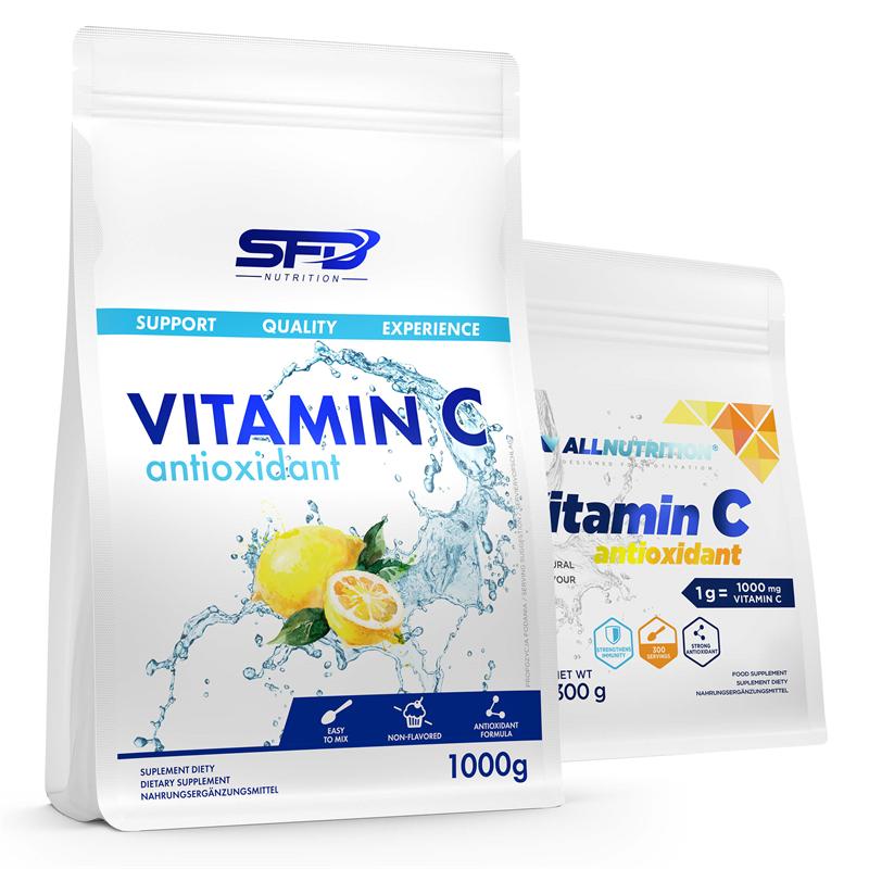 SFD NUTRITION Vitamin C 1000g + Vitamin C 300g GRATIS