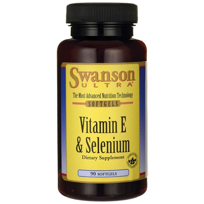 Swanson Vitamin E with Selenium