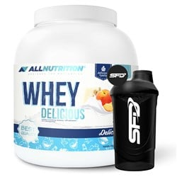 Whey Delicious Protein 2270g+ Shaker GRATIS