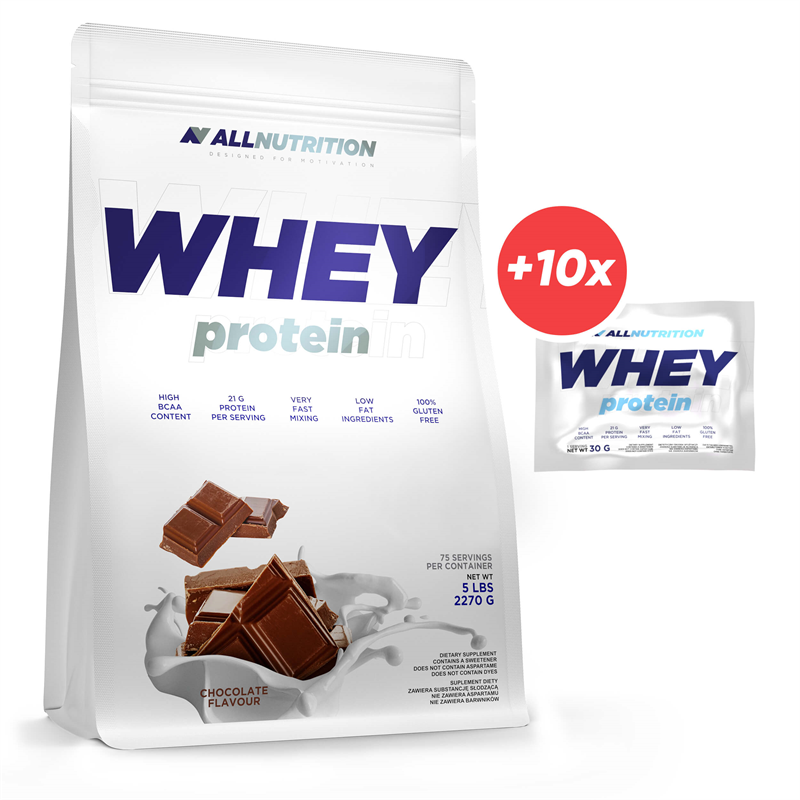 ALLNUTRITION Whey Protein 2270g + 10x Whey Protein 30g GRATIS
