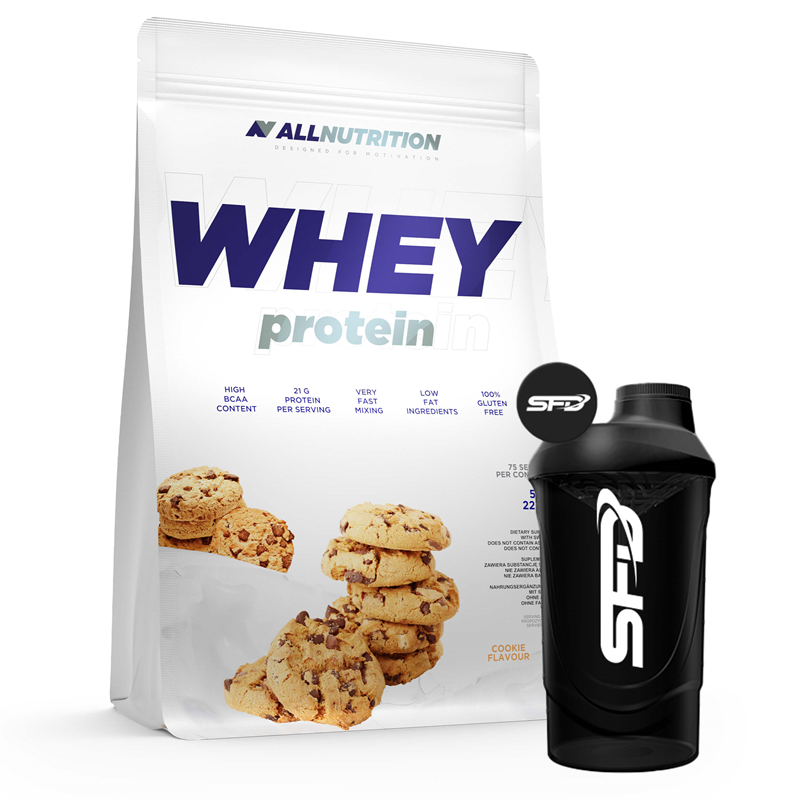 ALLNUTRITION Whey Protein 2270g + Shaker GRATIS