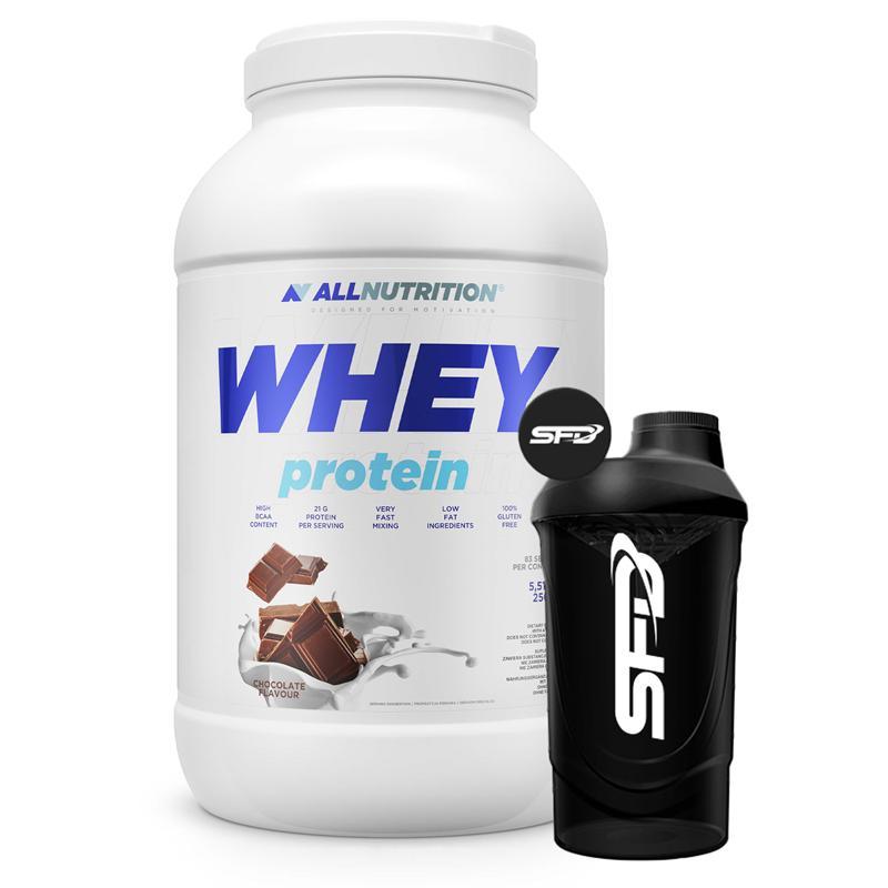 ALLNUTRITION Whey Protein 2500g + Shaker GRATIS
