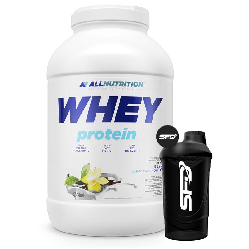 ALLNUTRITION Whey Protein 4080g + Shaker GRATIS