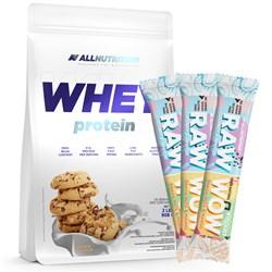 Whey Protein 908g + 3x Raw WoW Bar 2x35g GRATIS