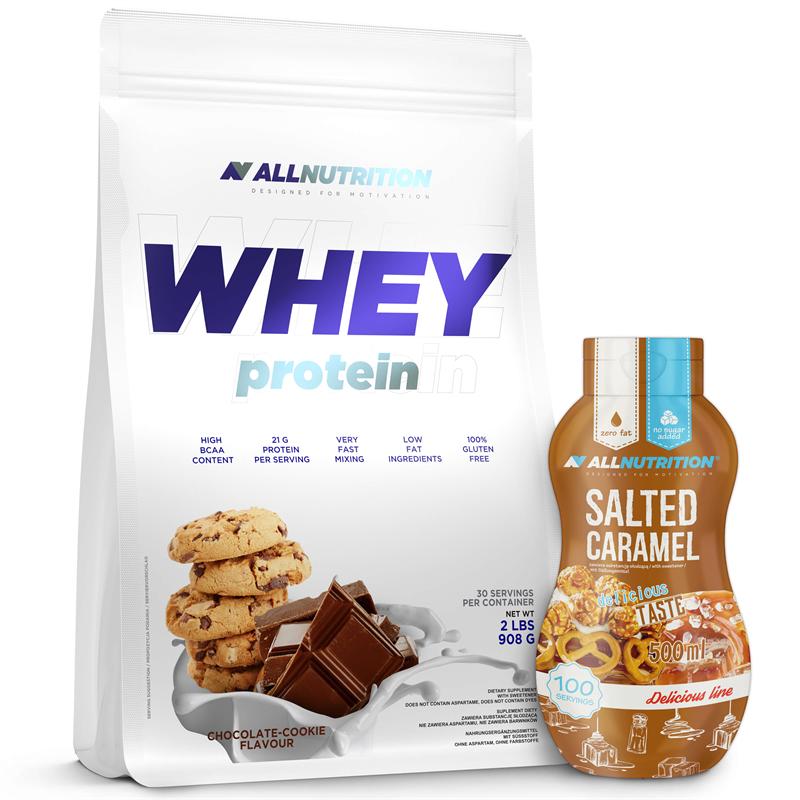 ALLNUTRITION Whey Protein 908g + Sweet Sauce 500ml GRATIS!