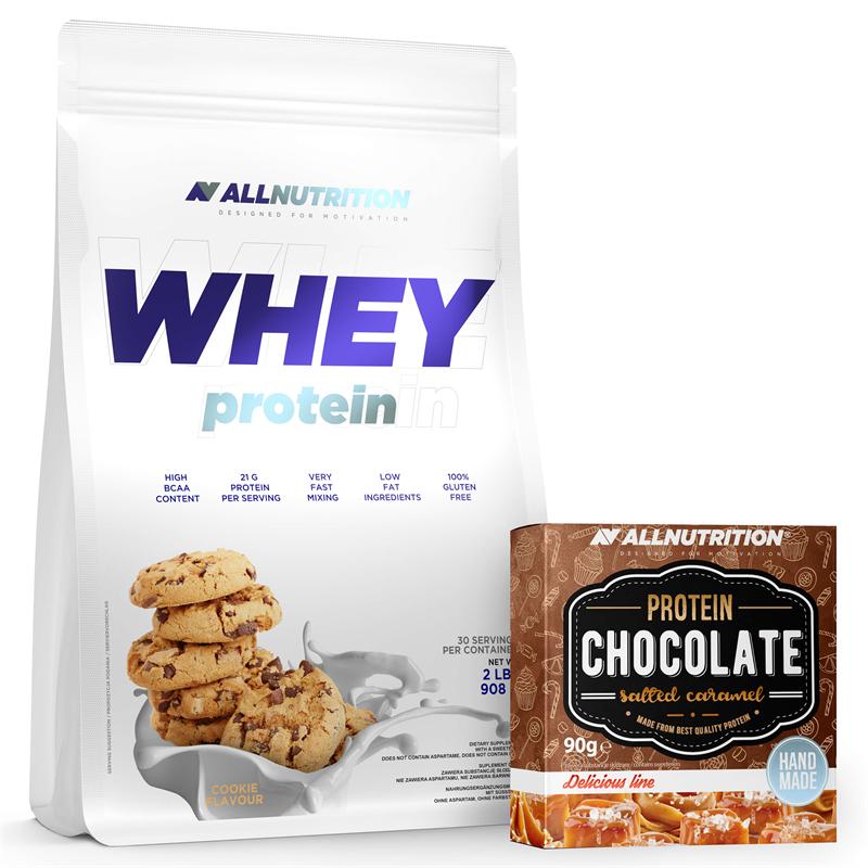 ALLNUTRITION Whey Protein + Protein Chocolate