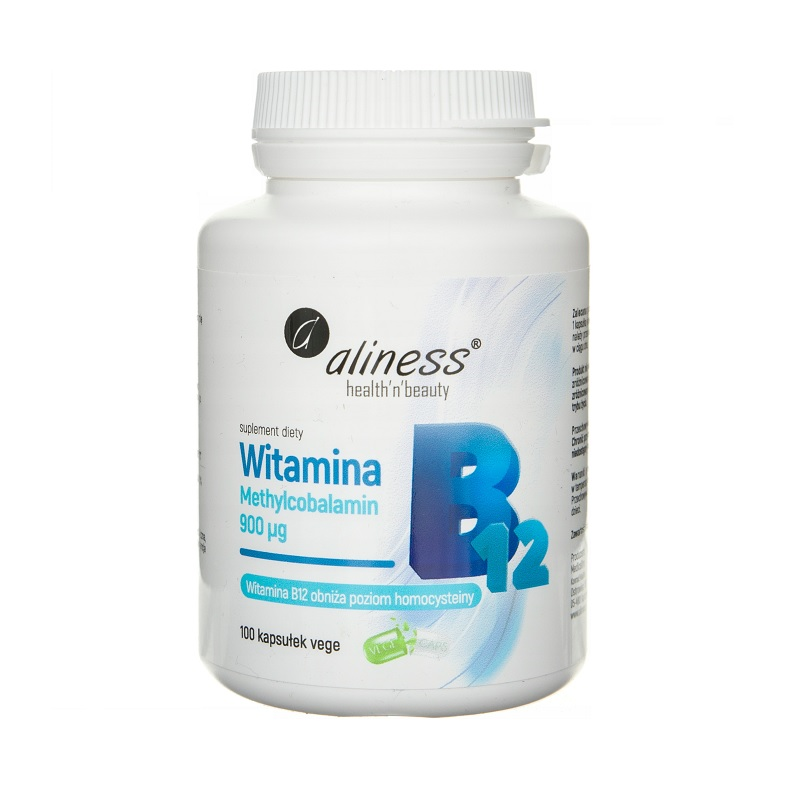 Witamina B12 Methylcobalamin 900mcg Vege