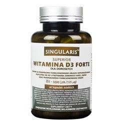 Witamina D3 5000 IU Forte