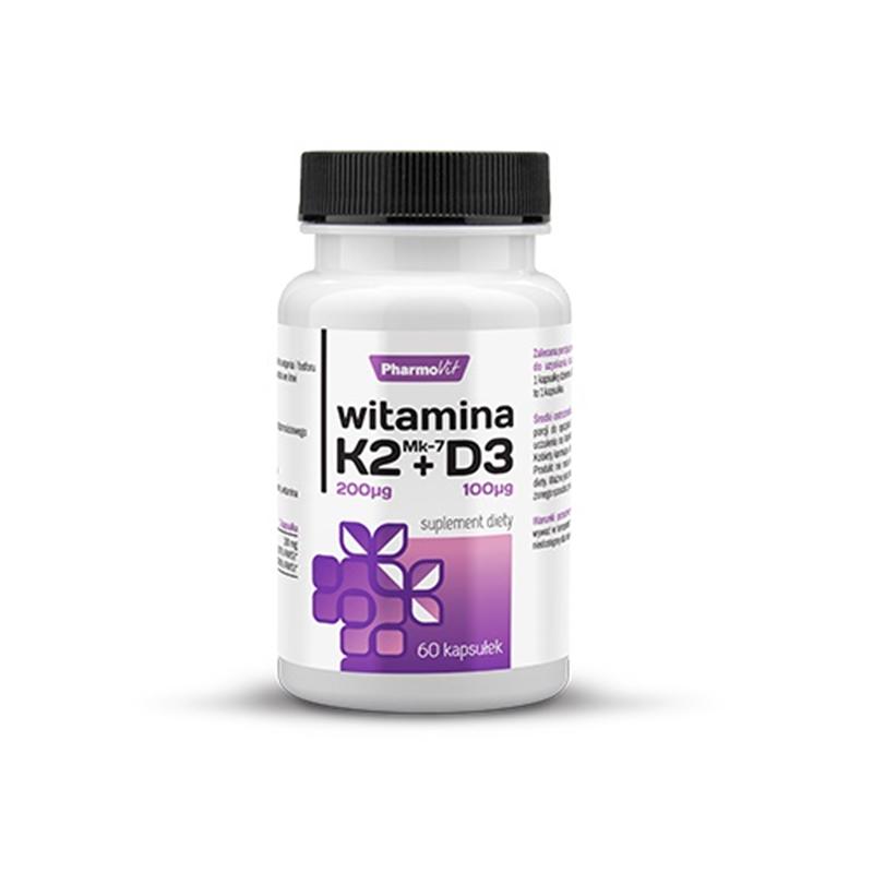 Pharmovit Witamina K2Mk7 + D3