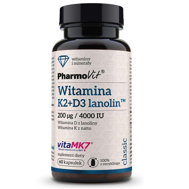 Pharmovit Witamina K2 + D3 Lanolin