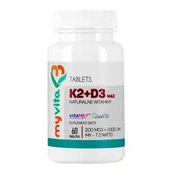 Witamina K2 + D3 Max