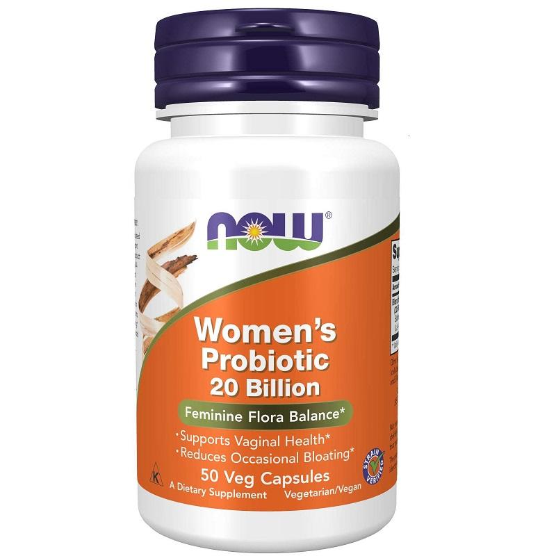 Now Women's Probiotic 20 Billion