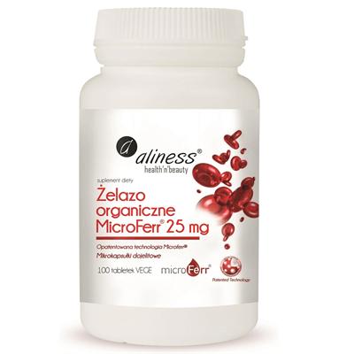 Żelazo organiczne MicroFerr 25 mg