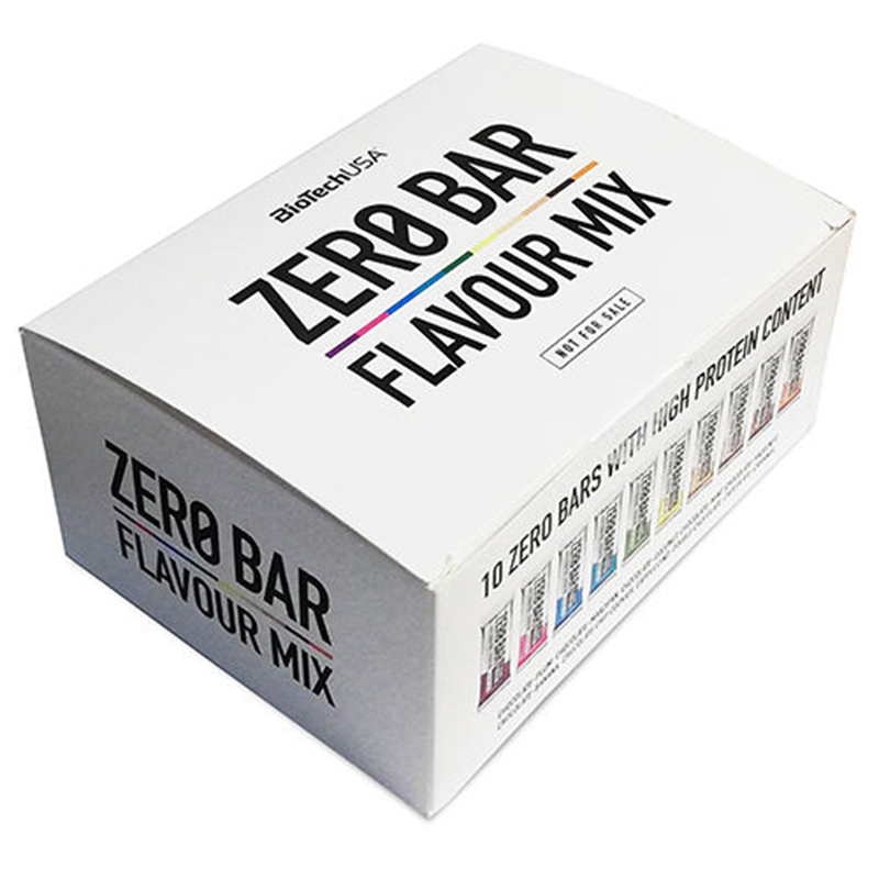 BioTechUSA Zero Bar FLAVOUR MIX