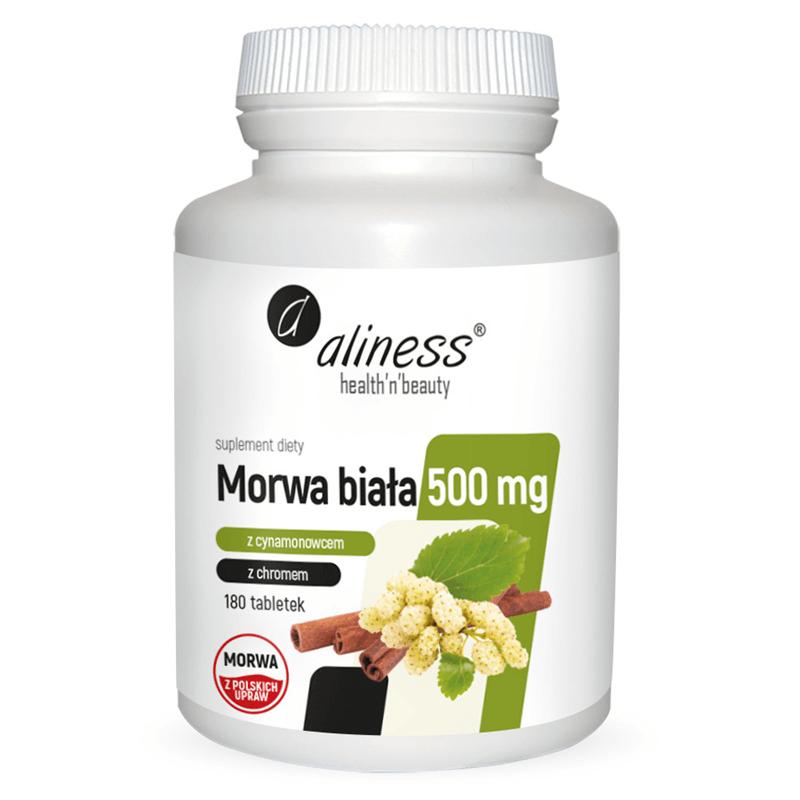 Medicaline Morwa Biała z cynamonowcem i chromem