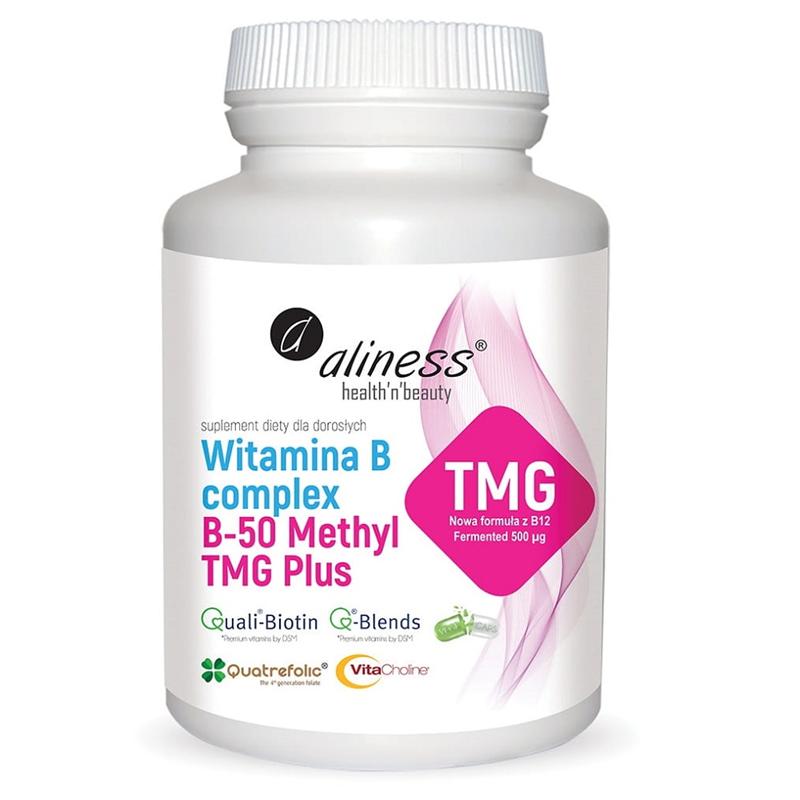 Medicaline Witamina B Complex B-50 Methyl TMG PLUS