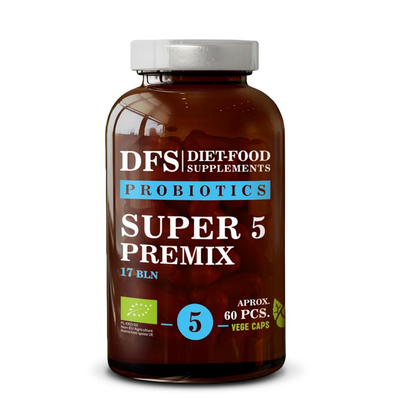 Diet Food SUPER 5 PREMIX