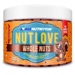 NUTLOVE WHOLENUTS - Migdały W Ciemnej Czekoladzie Oprószone Malinami
