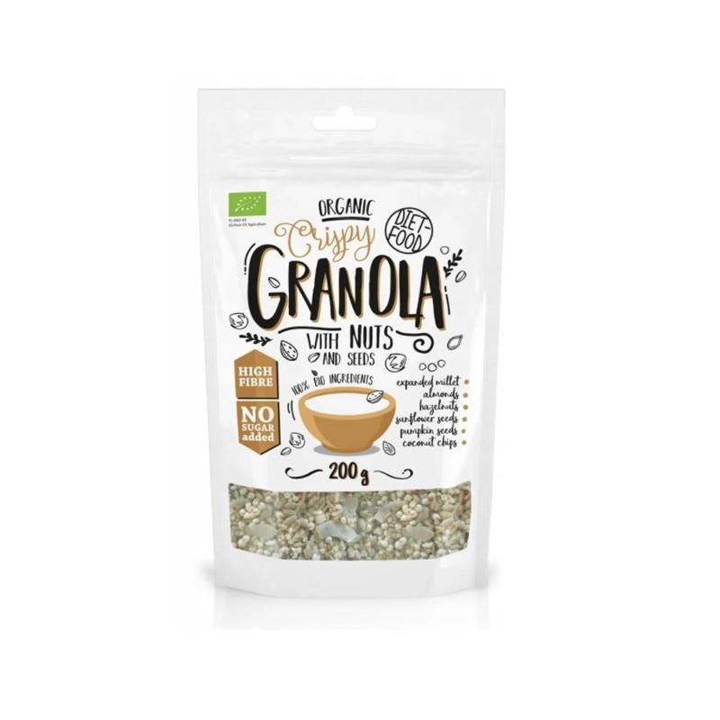 Diet Food Bio Granola z Orzechami