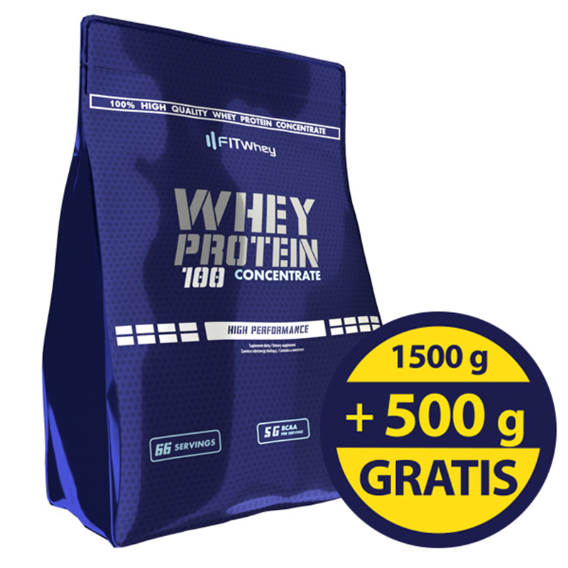FitWhey Whey Protein 100 Concentrate