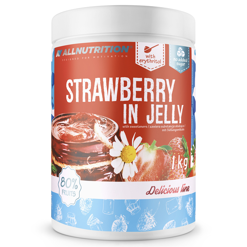 ALLNUTRITION Strawberry In Jelly