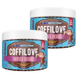 2x COFFILOVE Ziarna Kawy W Mlecznej Czekoladzie 300g