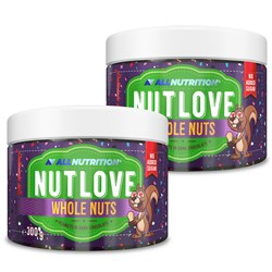 2x Nutlove Wholenuts - Arachidy W Ciemnej Czekoladzie 300g