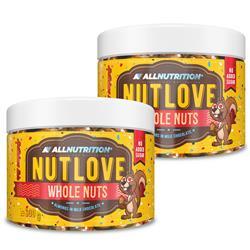 2x Nutlove Wholenuts - Migdały W Mlecznej Czekoladzie 300g
